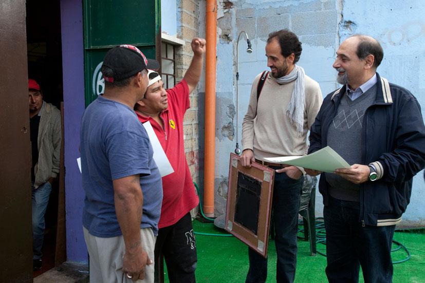 Guidoni con Lucio e Daniel