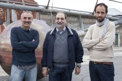 Guidoni con G. De Finis e F. Boni