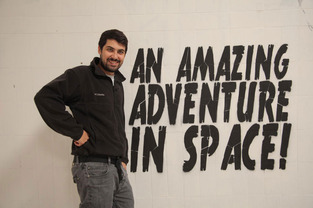 Lucamaleonte - An amazing adventure in space