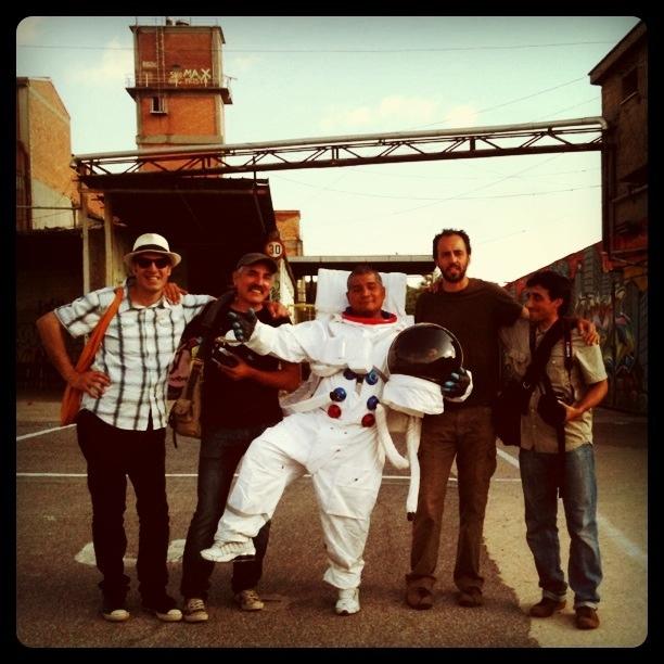 Astronauta al Metropoliz