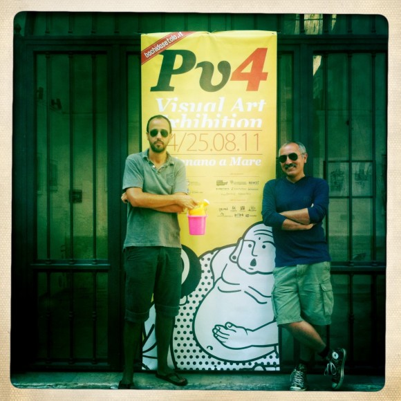 Fabrizio e Giorgio a Pilognano
